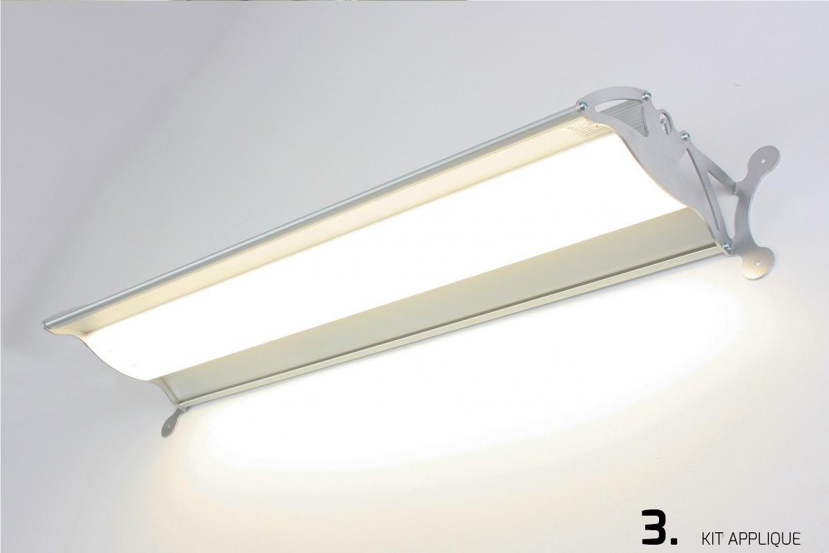 Plafoniera Led Soffitto 150 Cm : Plafoniere a led lineari per soffitto di diverse dimensioni